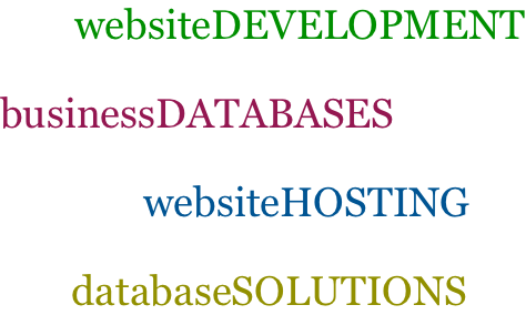 database website hosting solutions