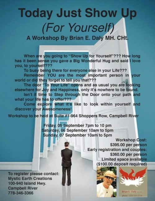 Today Just Show Up For Yourself Workshop